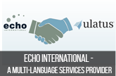 Translation Case study: Echo International - A language service provider