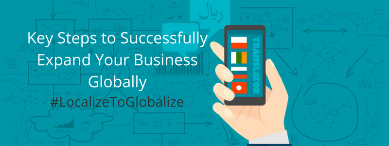 some tips to help you get started on developing your globalization strategy