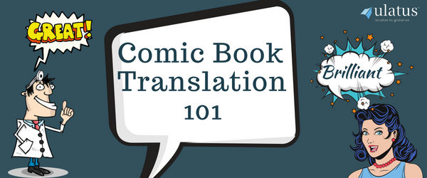 Comic Book Translation Services