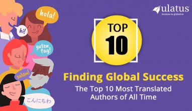 Most translated Authors